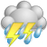 Tue - Thunderstorms Early