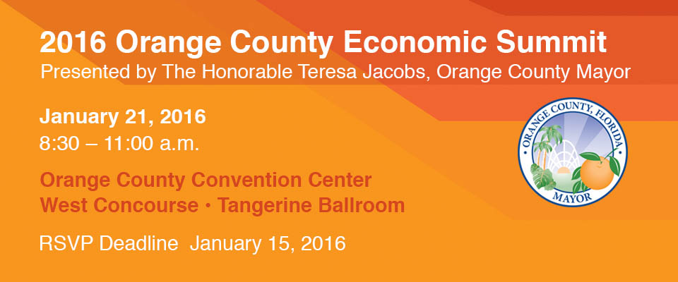 Economic Summit 2015 Banner