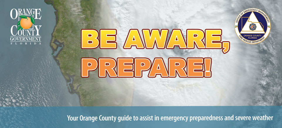 Your Orange County guide to assist in emergency preparedness and severe weather