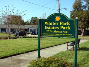 Winter Park Estates Park