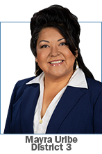 Mayra Uribe, District 3